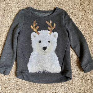 Sonoma Polar Bear Sweatshirt - Size 5